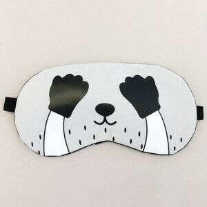 Маска для сна с гелевым вкладышем Playing panda