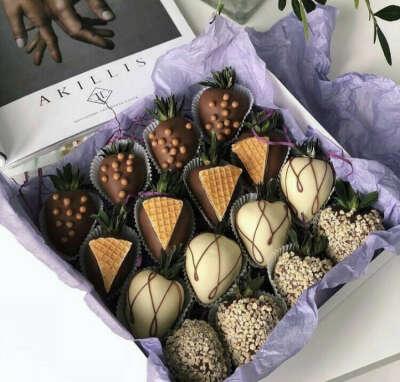🍓 клубника в шоколаде