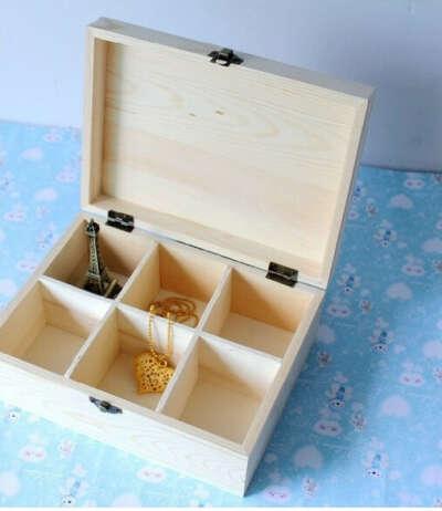 Деревянная шкатулка для мелочей