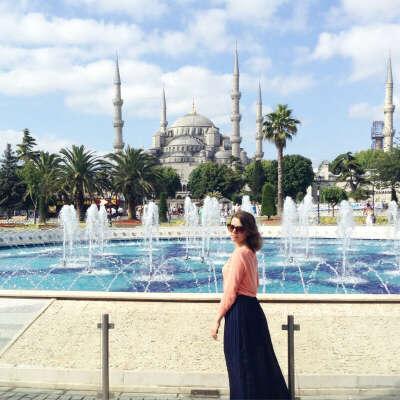 Побывать в Стамбуле,Турция