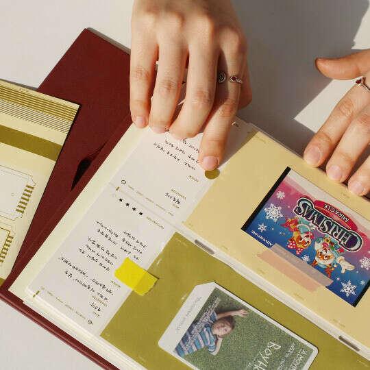 Ticket Book - альбом для коллекционирования билетов