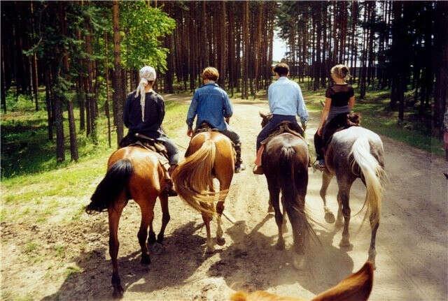 Отправится в конный поход на несколько дней