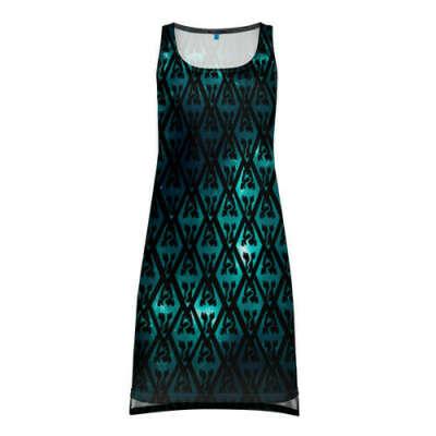 THE ELDER SCROLLS SKYRIM   TES 5 Платье-майка 3D с принтом