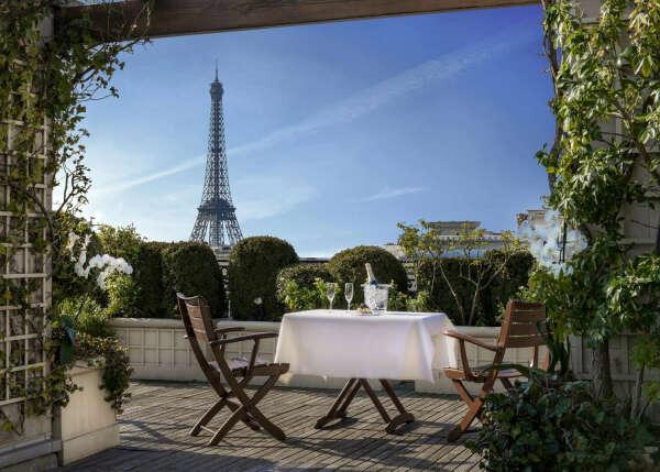круассаны на завтрак  в Париже