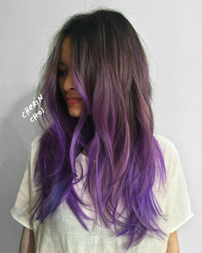 I want to paint  in purple