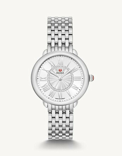 Serein Mid Stainless Diamond Dial Watch MWW21B000147 - MICHELE®