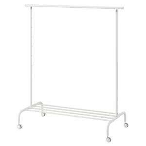 РИГГА Напольная вешалка, белая IKEA
