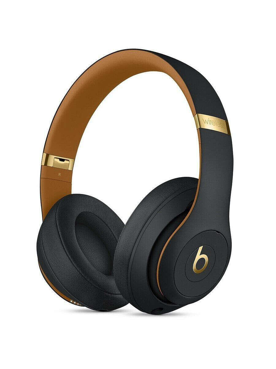 Беспроводные мониторные наушники Beats Studio3, коллекция Beats Skyline, цвет полуночный чёрный, Beats