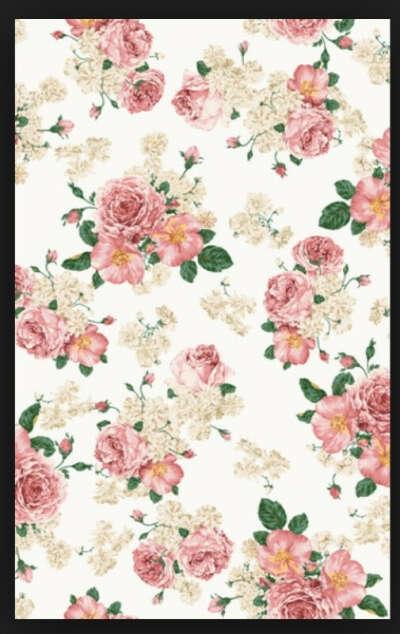 Чехол на iPhone 5 с цветочным принтом