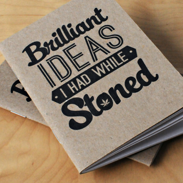 Тетрадь Brilliant Ideas I Had While Stoned