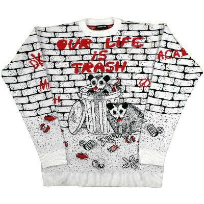 Our life is trash / свитер
