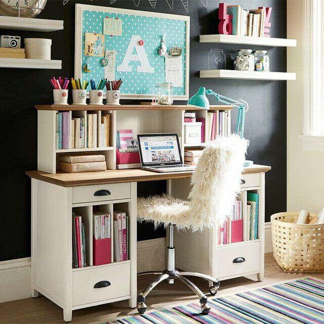 Удобный рабочий стол и стул