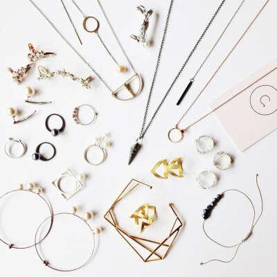 Минималистичные украшения (фаланговые кольца, браслеты, колье ...)