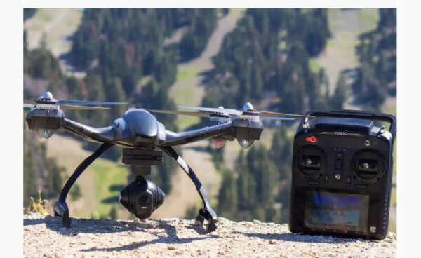 Дрон Typhoon Q500 с 4К-камерой и хорошей автономностью