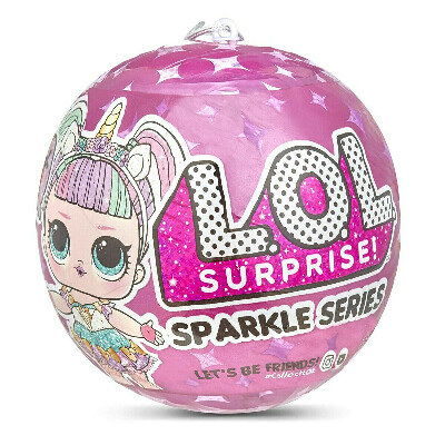 LOL Surprise Sparkle series Кукла ЛОЛ Гламурная
