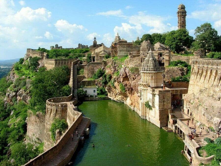 Форт Читторгарх (Раджастхан, Индия)