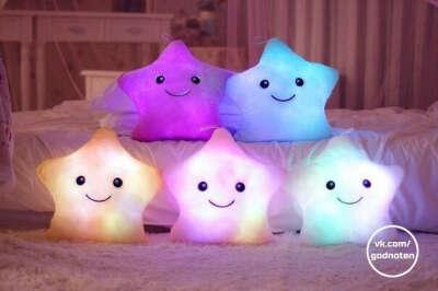 Светящиеся подушки.