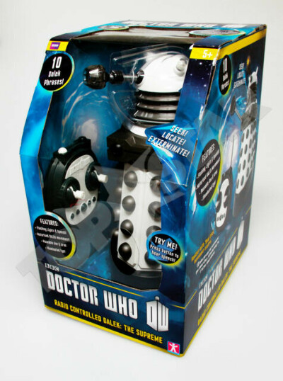 Doctor Who Large Radio / Remote Controlled Dalek Toy The Supreme BBC NEW