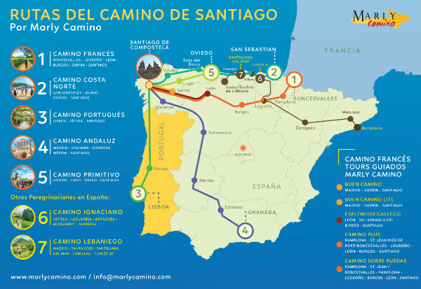 Пройти Camino de Santiago