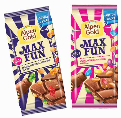Хочу попробовать шоколад Alpen Gold Max Fun