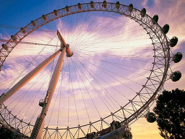 Прокатиться на London Eye