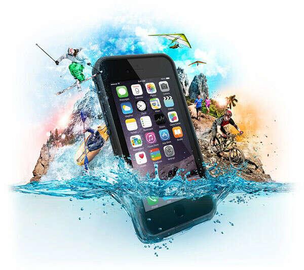 LifeProof выпустили тонкий, пылевлагозащищенный и противоударный чехол для iPhone 6