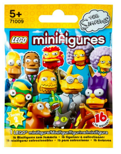 """Конструктор LEGO Minifigures 71009 Минифигурки серия """"Симпсоны"""" 2.0"""