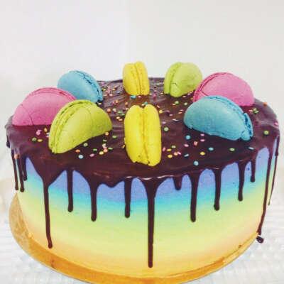 Именной торт на день рождение