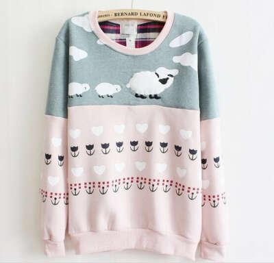 милый свитер:3