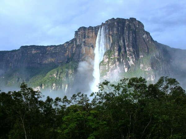 Посетить водопад Анхель
