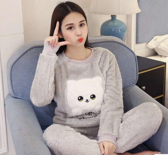 Пижама тёплая, мягкая