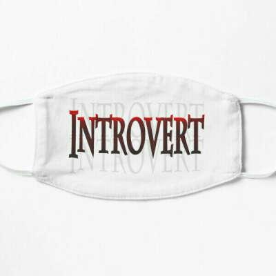 Introvert on transparent background | Mask