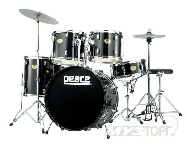 Научится играть на барабанной установке