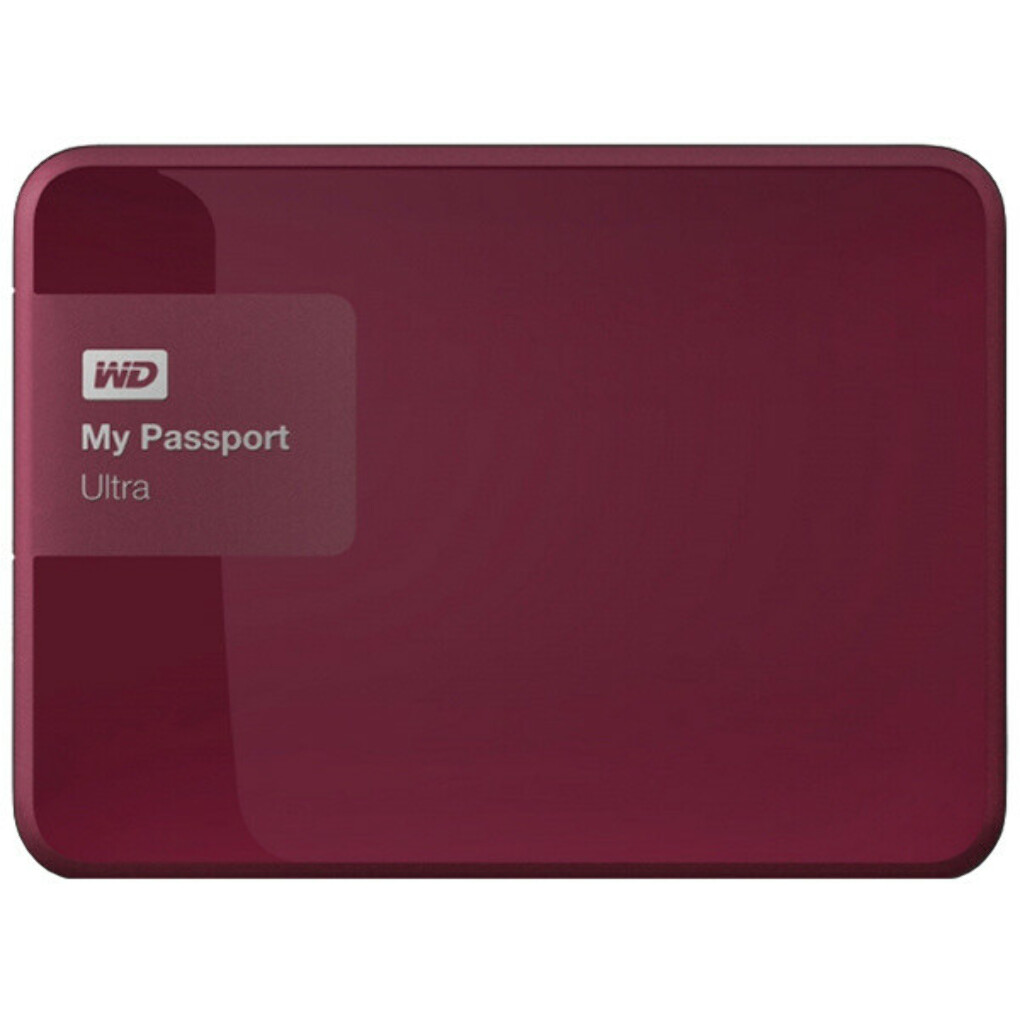 "Внешний жесткий диск 2.5"" WD My Passport Ultra 1TB (WDBDDE0010BBY-EEUE)"