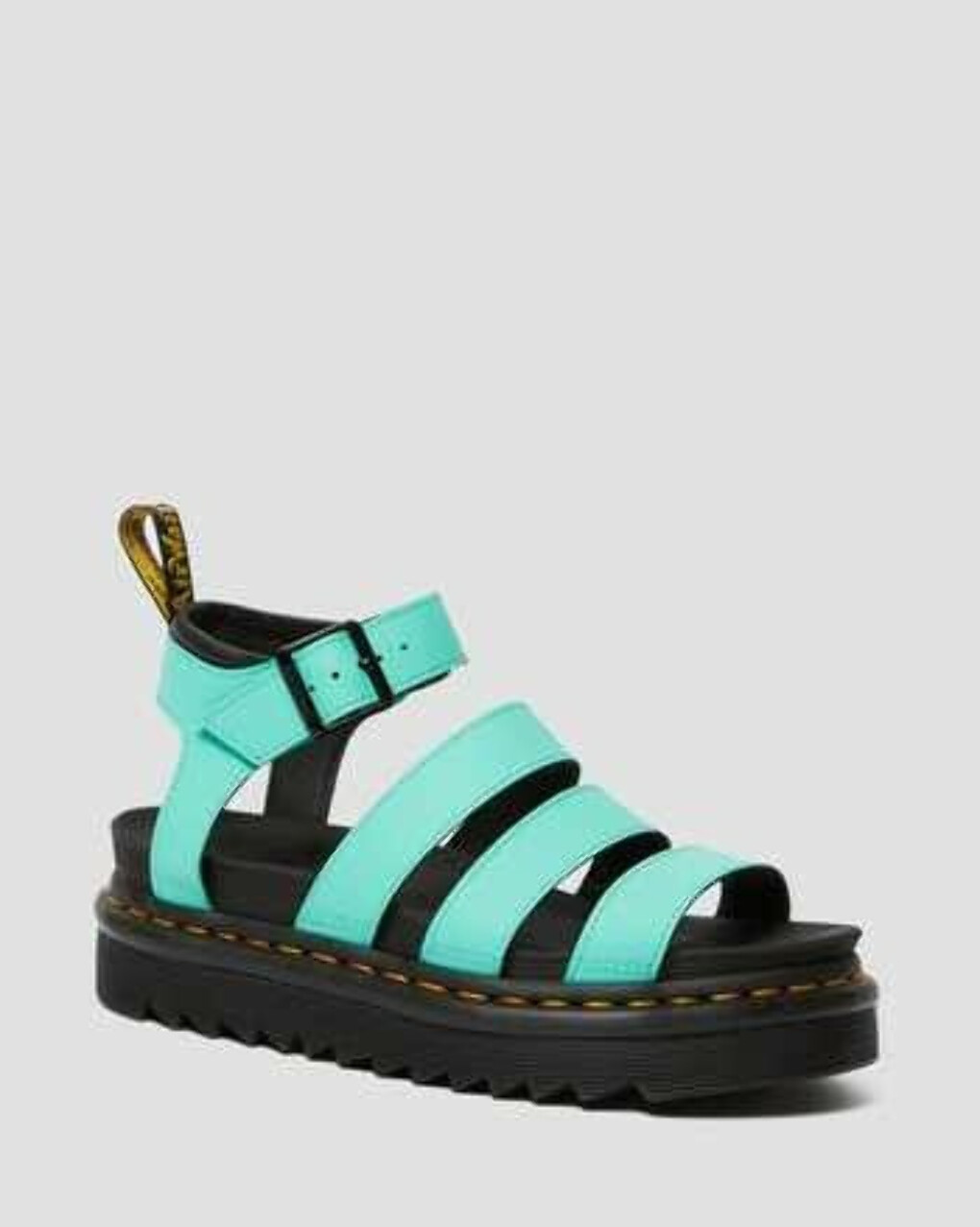 DR MARTENS BLAIRE WOMEN'S HYDRO LEATHER GLADIATOR SANDALS