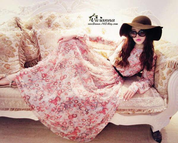 Хочу красивое длинное платье