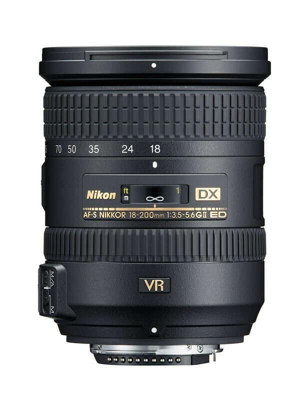 Объектив Nikon 18-200 f/3.5-5.6G DX ED AF-S VRII DX Zoom-Nikkor