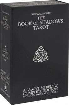 "Набор ""Таро книга теней"" с 2-мя колодами (карты + книга )"
