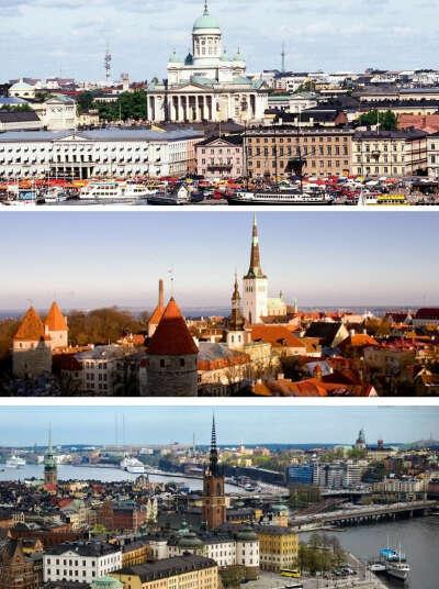 Круиз: Хельсинки, Стокгольм, Таллин