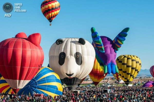 Хочу побывать на фестивале воздушных шаров