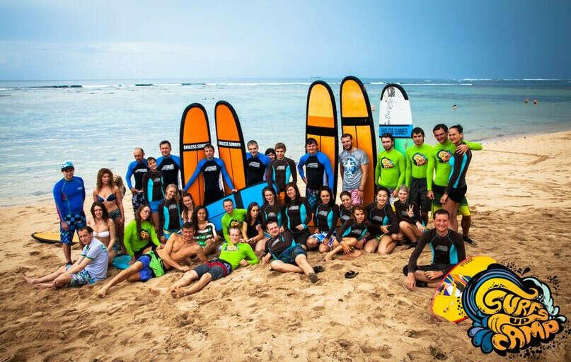 поехать в  SurfsUpCamp на Бали