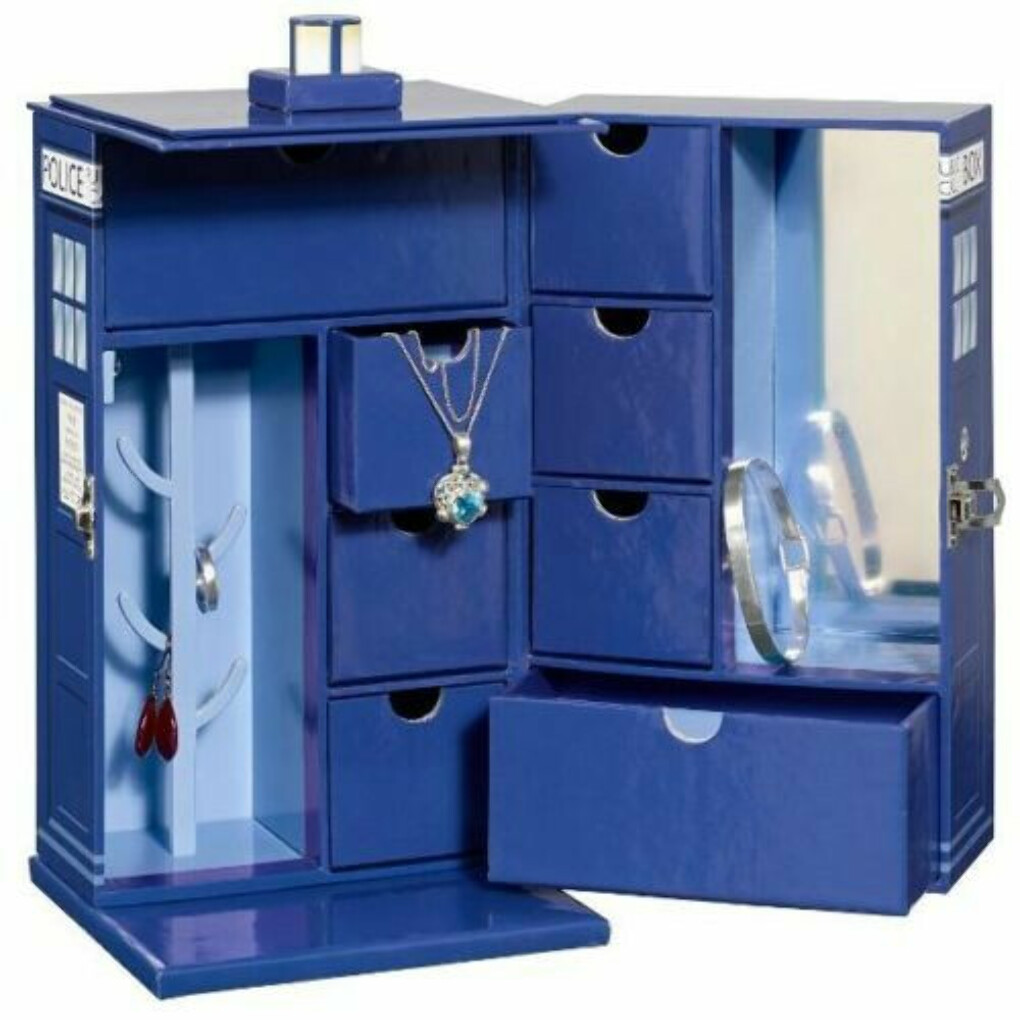 Details about   Doctor Who: TARDIS Jewellery Box