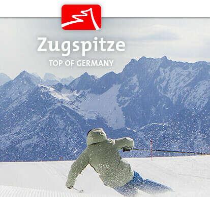 Snowboarding at Zugspitze