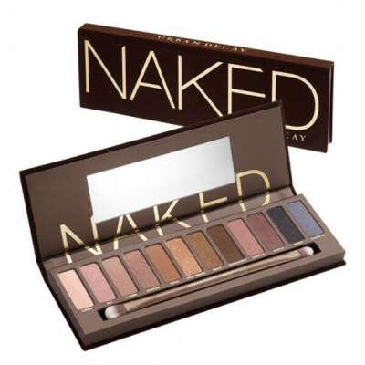 Naked palette 1 от Urban Decay (палитра Нейкед 12 теней)