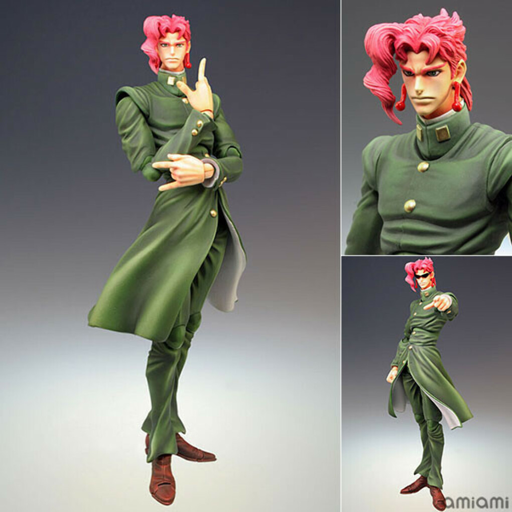 Super Action Statue - JoJo's Bizarre Adventure Part.III #6 Noriaki Kakyouin Complete Figure[Medicos Entertainment]