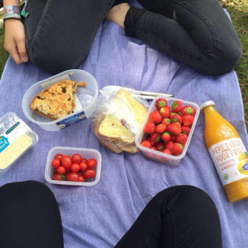 Завтрак в парке