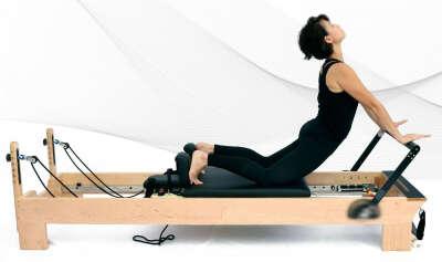 Pilates Cadillac Reformer   Pilates Equipment Fitness