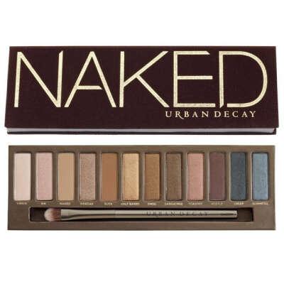 Палетка теней Naked