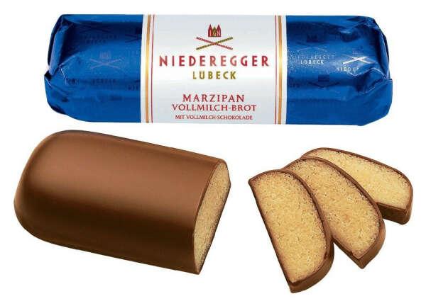 марципан в молочном шоколаде Niederegger