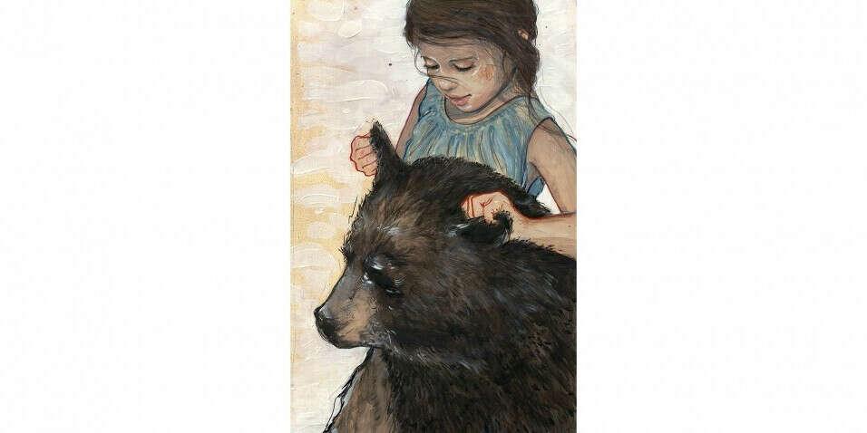 Постер Natalie Rukavishnikova Ears А3 – купить в интернет-магазине StoryStore